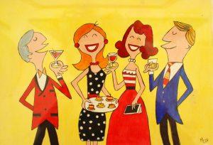 Cheyne Walk Club Cocktail Party