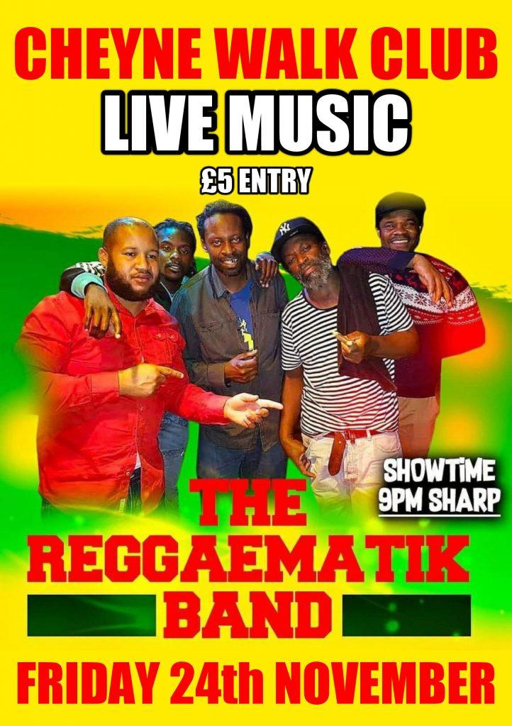 Live Music: Reggaematik